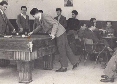 Il bar Balduzzi nel 1952
