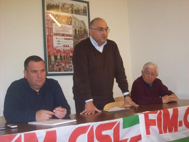 Angelucci, Biscotti e De Luca