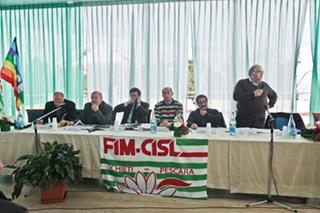 Il tavolo della Presidenza - Foto Ercole D'Ercole
