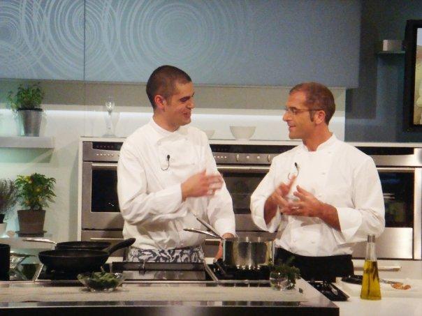 Lo chef Nicola Fossaceca