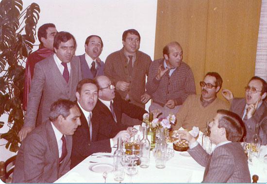 Una cena tra amici (primi anni 80)