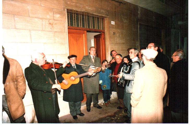 Canto del Sant'Antonio in Corso Garibaldi