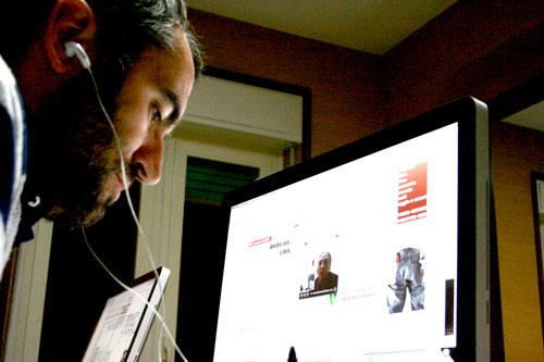 Il caporedattore D'Ottavio intervista l'infermiera volontaria di Agnone in Afghanistan