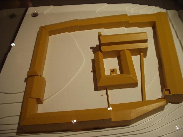 Plastico del Quadrilatero ( Museo civico Porta della Terra )