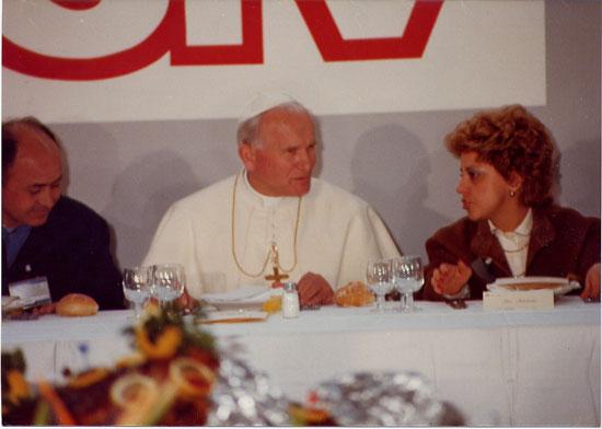 Giovanni Paolo II in visita a San Salvo (19 marzo 1983)