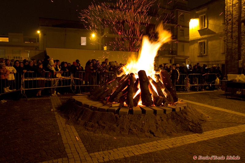 Fuoco di San Tommaso - 20 Dicembre 2010