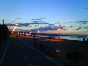 San Salvo Marina di sera