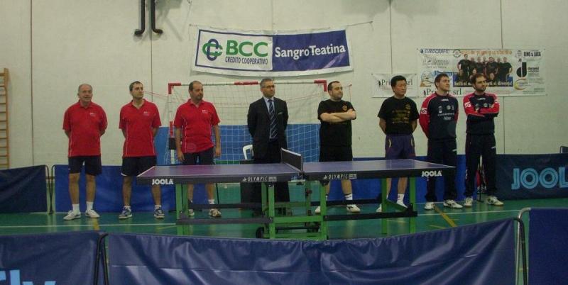 Tennis tavolo il casalbordino conquista la salvezza il - Stefano bosi tennis tavolo ...