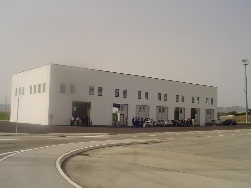 L'inaugurazione nel 2008