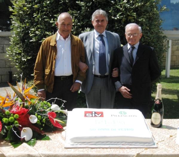 Borgese e Ceci con Marcovecchio (al centro)