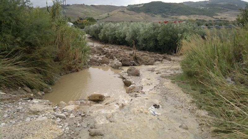 Foto di repertorio (alluvione del 2011)