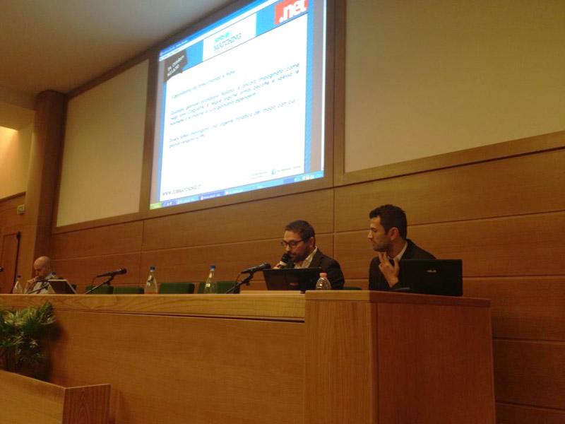 L'editore Antonio Cilli e il webmaster Francesco Spina