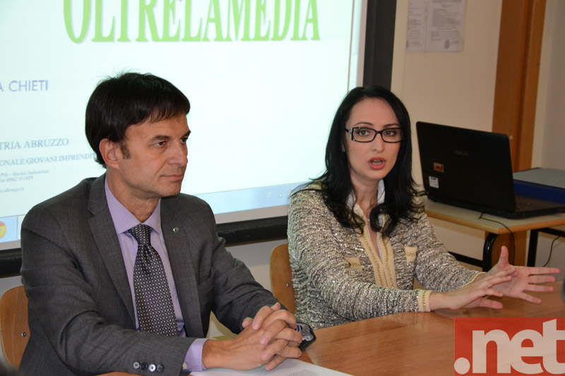 Nichi Argirò e Anna Paola Sabatini