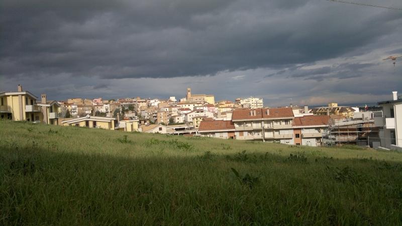 Panoramica su San Salvo, autunno 2012