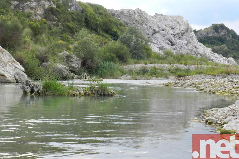 Il Trigno in località Pietra Fracida