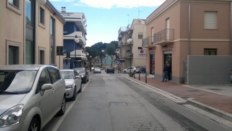 Via Duca degli Abruzzi, marzo 2013