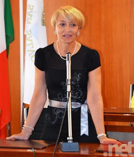 La dirigente scolastica Anna Orsatti