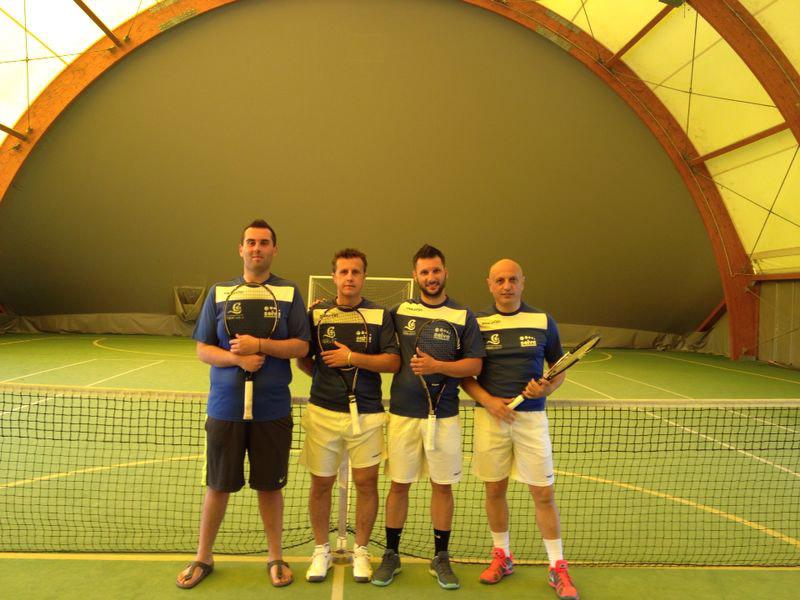 La formazione del Circolo Tennis 'La Selva'