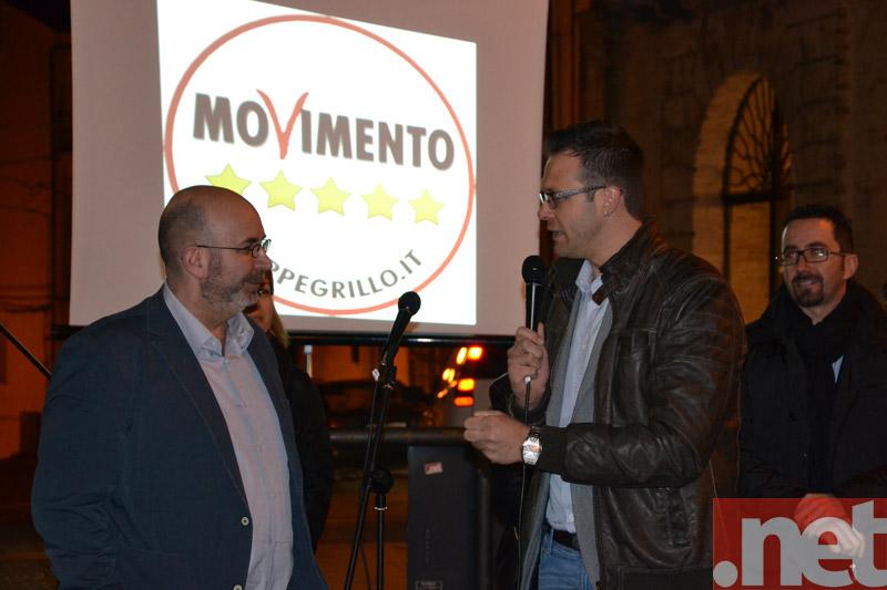 Silverio Marzocchetti e Vito Crimi
