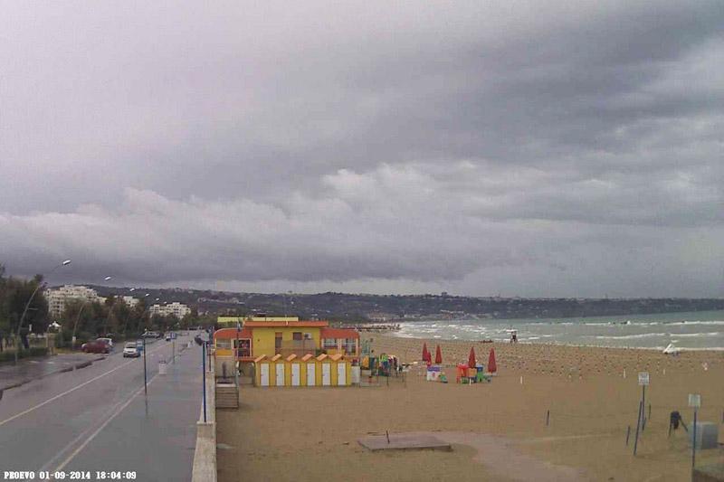 La spiaggia di San Salvo oggi
