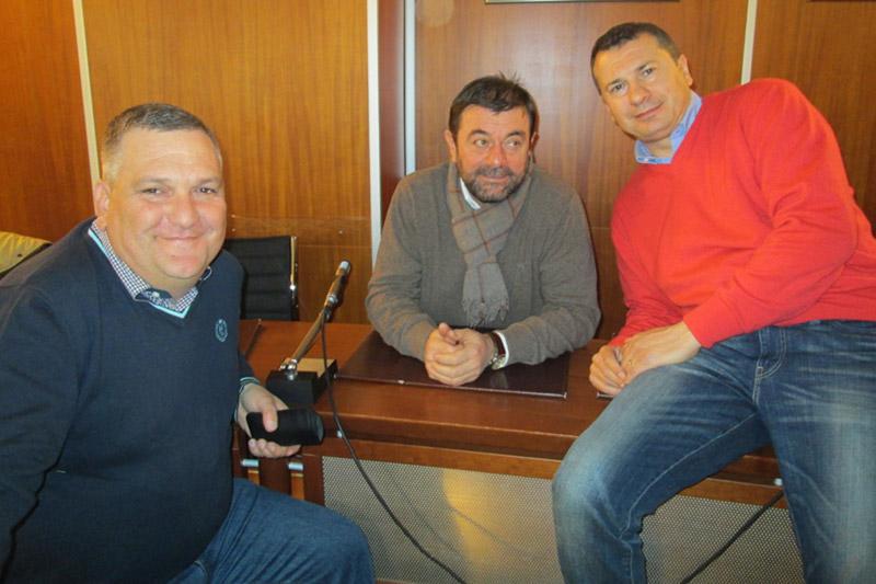 Il gruppo Ssd (Angelucci, Marchese e Di Stefano)