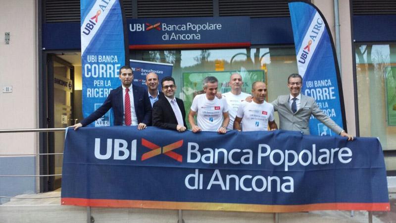 Un momento della tappa 'UBI Banca per l'AIRC' a San Salvo