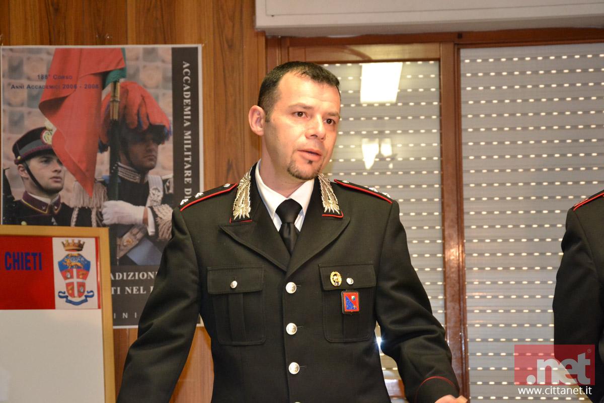 Il tenente Domenico Fiorini