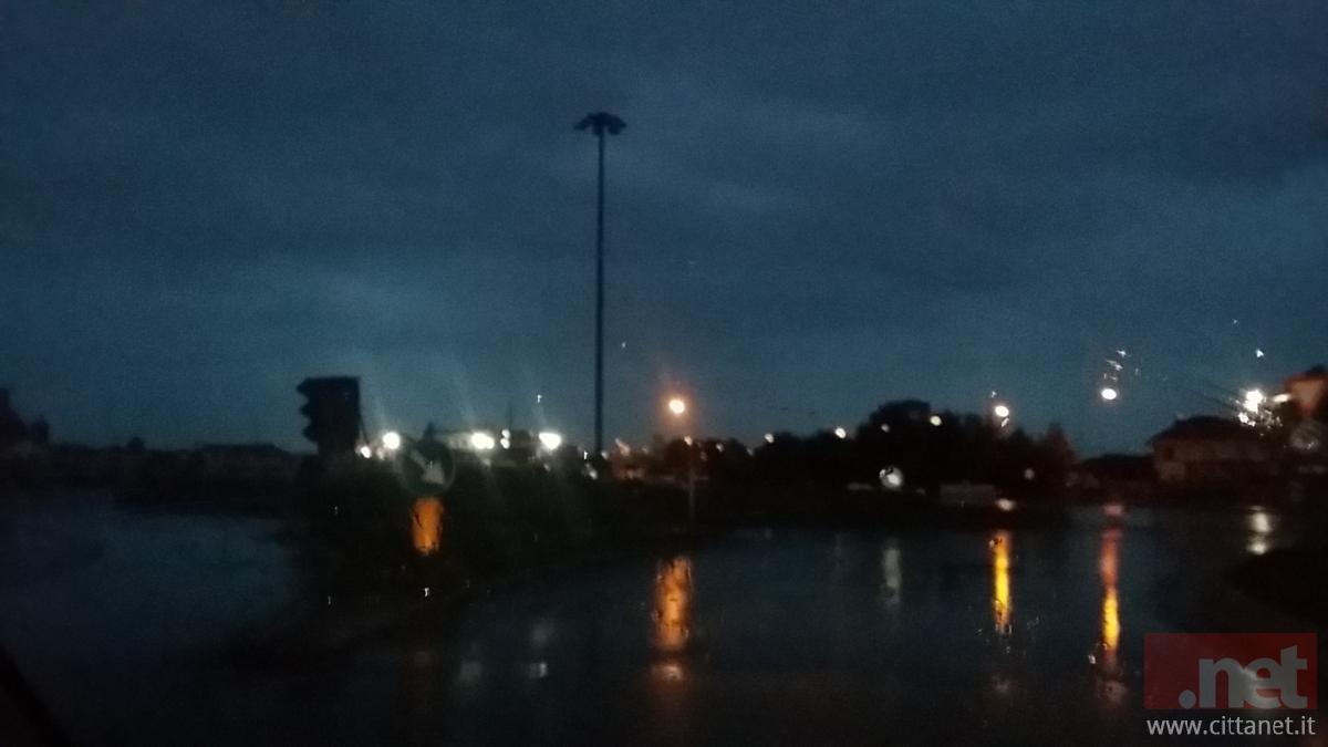 Piana Sant'Angelo al buio