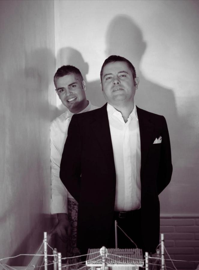 Nicola e Antonio Fossaceca del ristorante