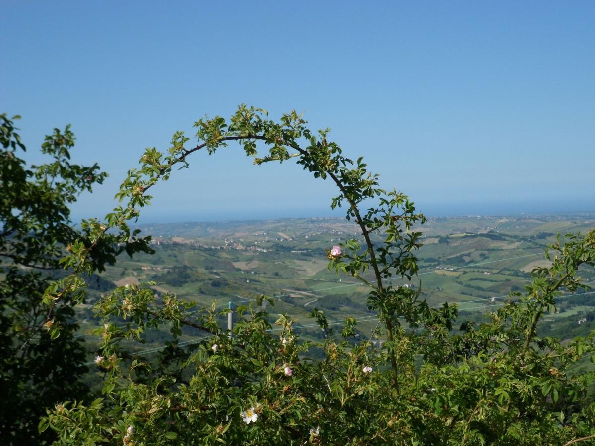 uno sguardo al mare e viceversa dai monti d'Abruzzo e Molise