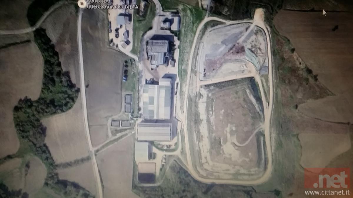 L'impianto esistente in località Valle Cena