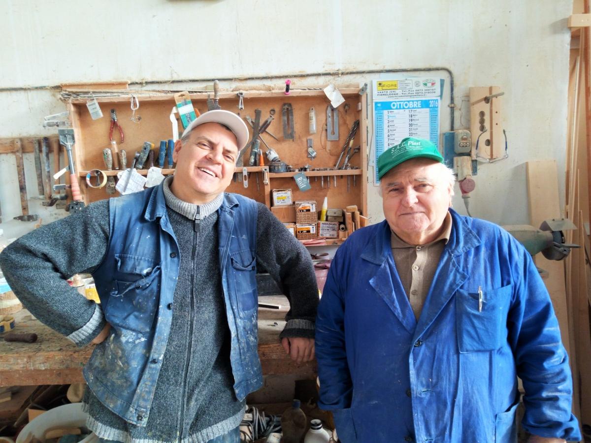 Ail, il profumo del legno è di casa Angelo e Ottavio Cilli ...