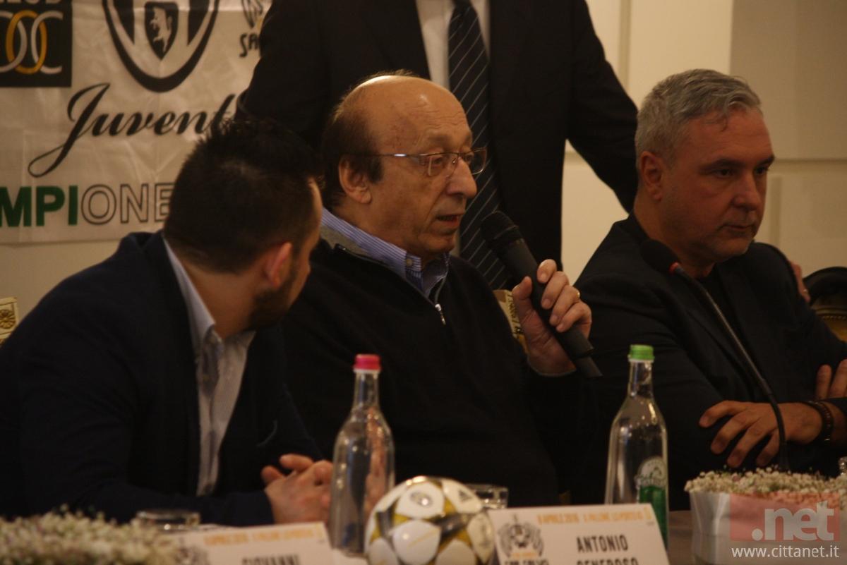 Luciano Moggi A San Salvo Grazie Allo Juventus Club