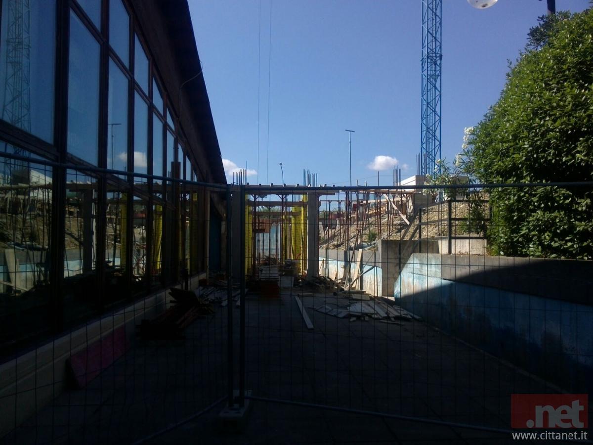 Work in progress allo sport village ma la piscina tanti - Piscina comunale san salvo ...