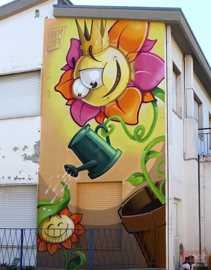 Favoloso Tracce Primitive colora la scuola materna di via Firenze Terminato  EI92
