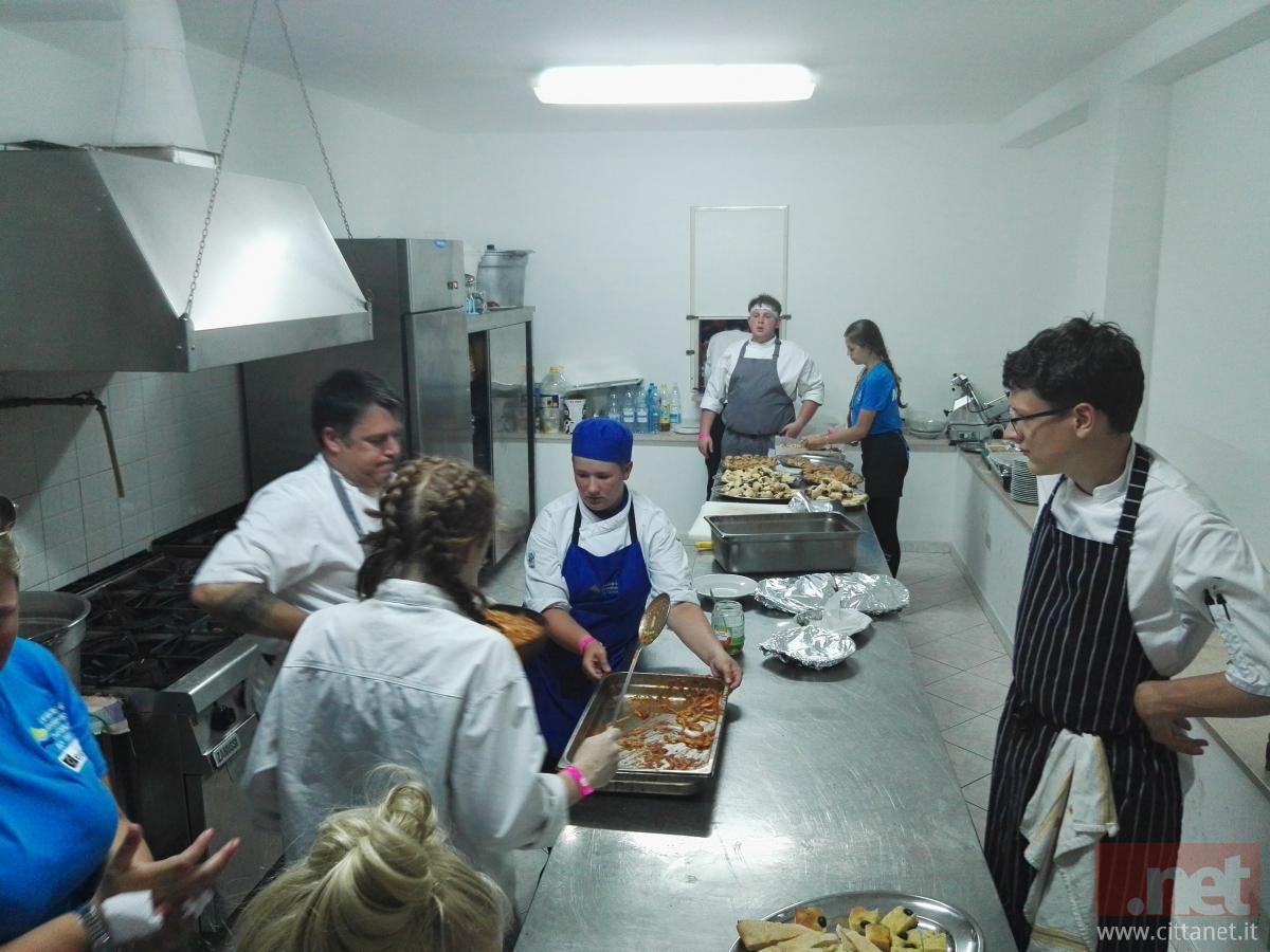 cucina italiana e cucina inglese a fresagrandinaria