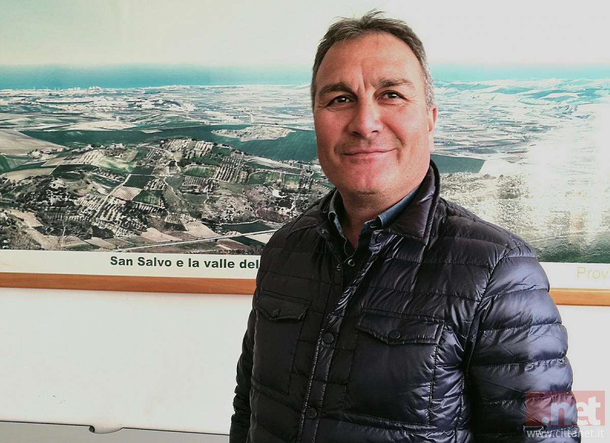 Il presidente dell'Euro-ortofrutticola del Trigno Nicolino Torricella