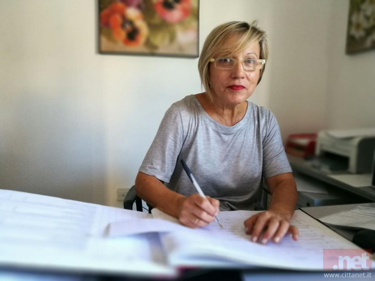 Silvana Di Penta ufficio Vaccini Distretto Sanitario di San Salvo