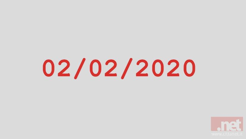 2 febbraio 2020, rarissima data